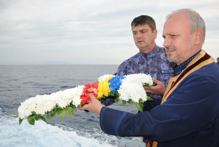 """Ziua Veteranilor. Ceremonie emoționantă, organizată de echipajul Fregatei """"Regele Ferdinand"""""""