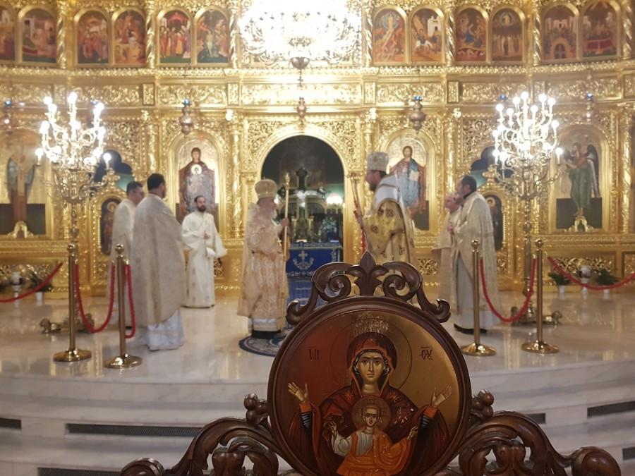 """(FOTO) PS Emilian Crișanul: """"Sfântul Ierarh Ioan Gură de Aur, darul lui Dumnezeu pentru Biserică"""""""