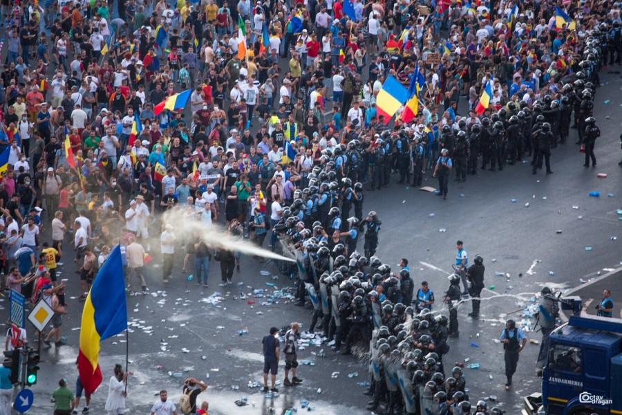 Raportul referitor la protestele din 10 august a fost declasificat