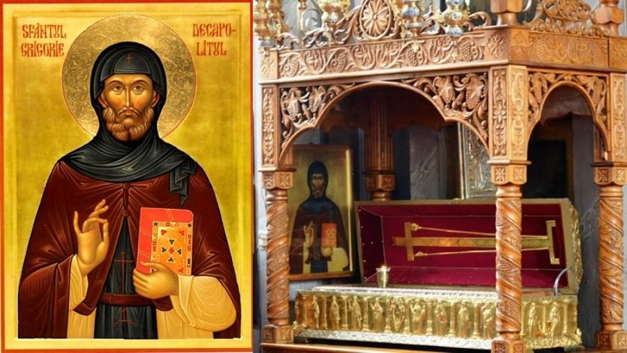 Sfântul Grigorie Decapolitul, ajutătorul tuturor celor aflați în nevoi