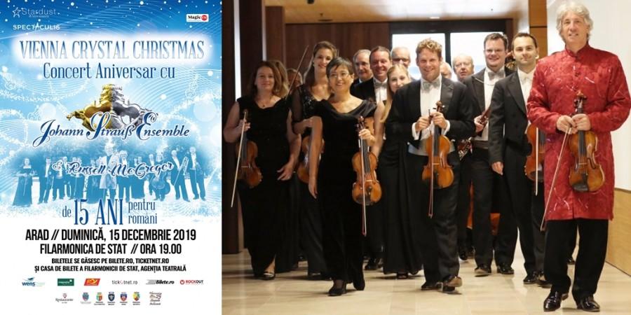Regal de muzică clasică la Arad! Johann Strauss Ensemble, la Filarmonica de Stat