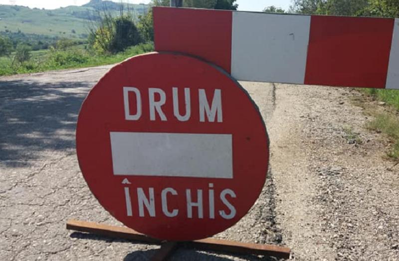 Drumul dintre Pâncota și Măderat va fi închis timp de două zile