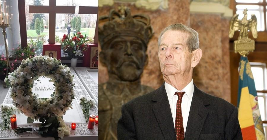Regele Mihai pomenit la Curtea de Argeș, la doi ani de la trecerea la cele veșnice