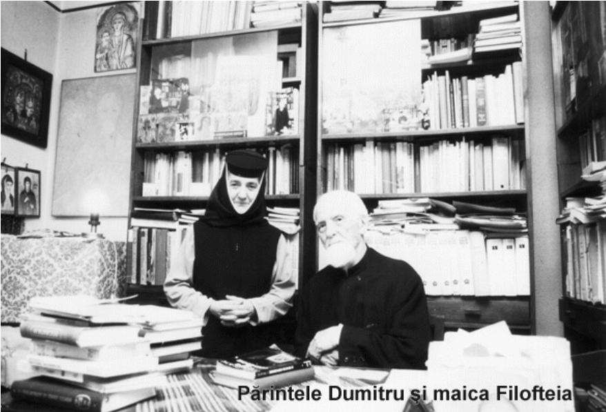 Maica Filofteia Potcoavă, nepoata Părintelui Dumitru Stăniloae, a fost înmormântată la Mănăstirea Țigănești