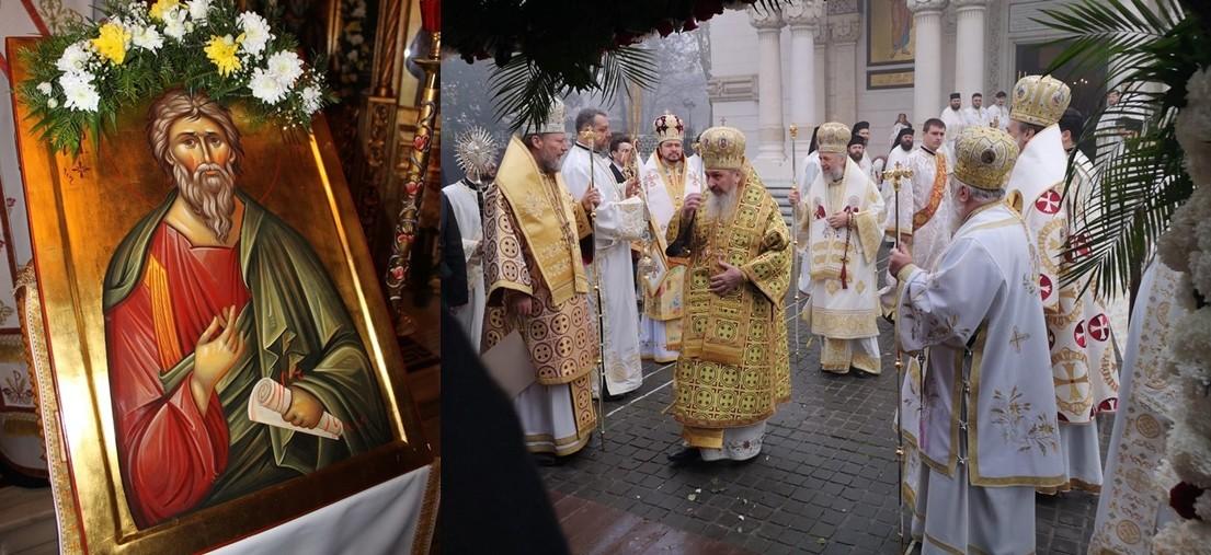 """""""Sfântul Apostol Andrei ne învață să afirmăm identitatea românească și să punem în lumină valorile creștine ale Bisericii în care ne-am botezat"""" – PS Emilian Crișanul"""