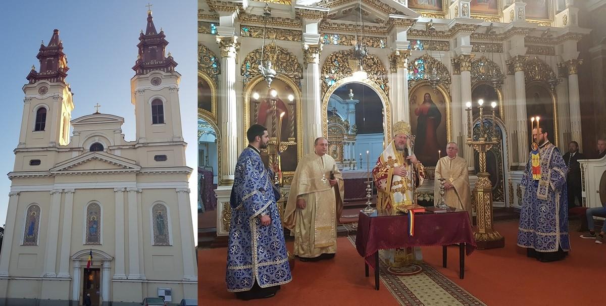 (FOTO) Lucrare și rodire în neamul românesc. Slujbă de Te Deum la Catedrala Veche din Cetatea Aradului de Ziua Națională