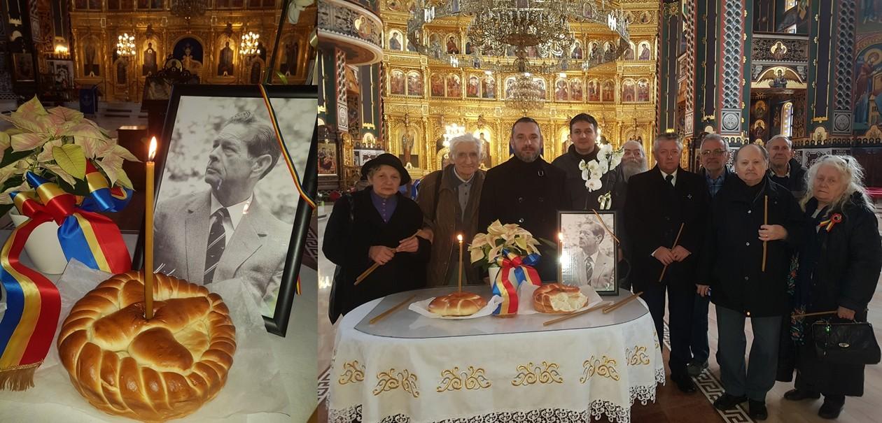 (FOTO) Parastas de doi ani pentru Regele Mihai, în Catedrala Arhiepiscopală din Arad