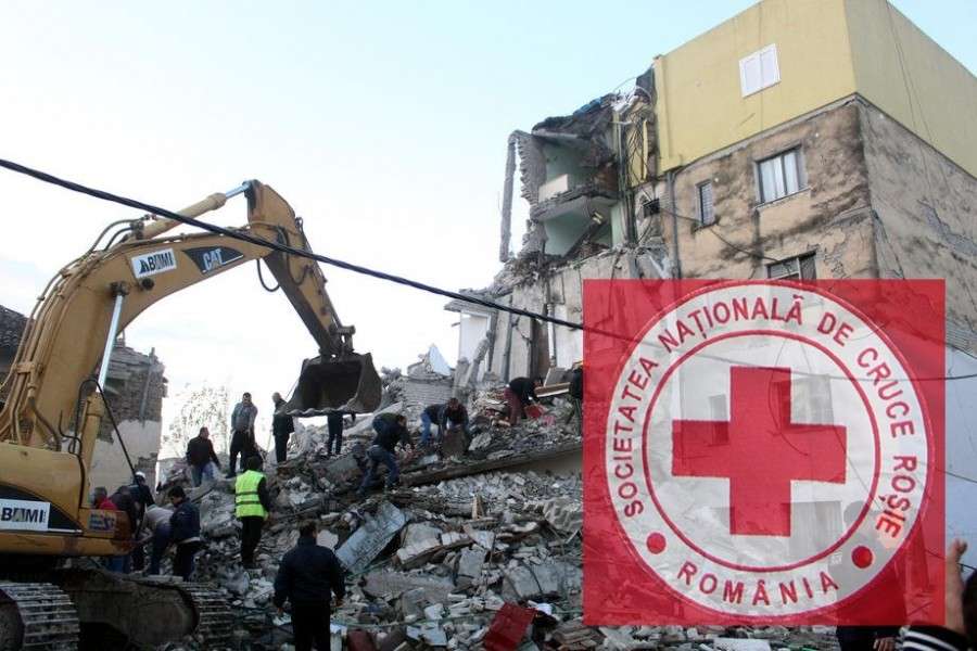 Apel umanitar pentru Albania. De vineri se pot face donații de 2 euro prin SMS