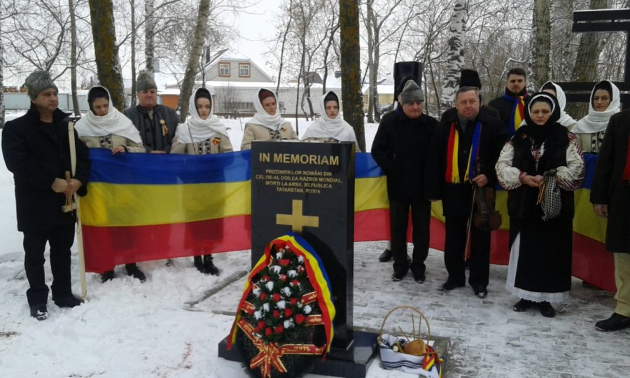 Cinci monumente ridicate în Federaţia Rusă în memoria militarilor români din cel de-al Doilea Război Mondial, inaugurate la începutul lunii decembrie