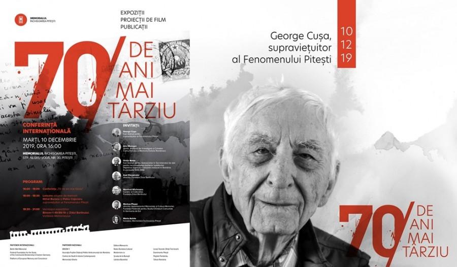 """Închisoarea Pitești, """"70 de ani mai târziu"""". Eveniment care marchează 70 de ani de la începutul Fenomenului Piteşti"""