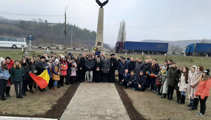 Monument dedicat grănicerilor și eroilor români căzuţi în Primul Război Mondial, inaugurat la Rezina