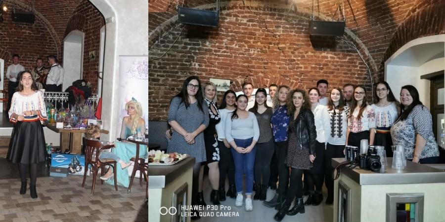 Colind pentru Elena. Membrii ASCOR Arad au participat la un eveniment caritabil pentru o fetiță cu tetrapareză spastică