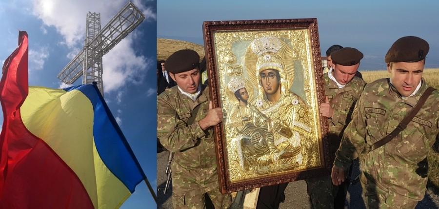 """(FOTO) Ziua Armatei. Biserica și Armata, """"verticala și orizontala crucii neamului nostru românesc"""""""