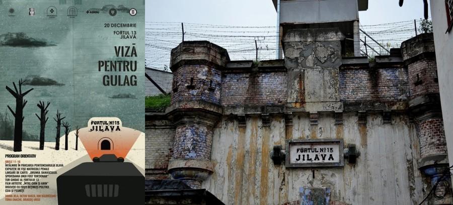 """Viză pentru Gulag. Jilava, Fortul 13 - O întâlnire cu o Expoziție, o Carte, un Film despre prigoana din România comunistă și """"ceai cu pesmeți"""""""