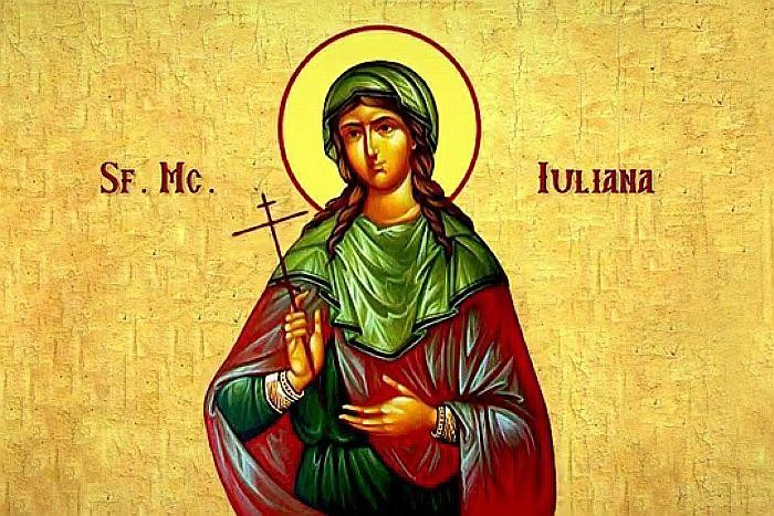 Sfânta Muceniță Iuliana