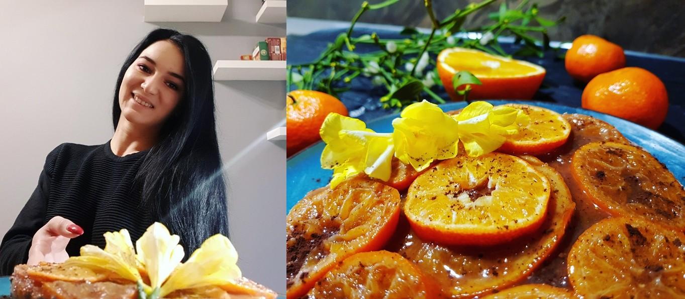 Din Bucătăria Lui Eliss: Prăjitură fără coacere cu portocale și clementine caramelizate, ciocolată și scorțișoară