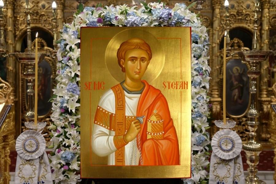 Sfântul Arhidiacon Ștefan, Întâiul Mucenic al Bisericii lui Hristos