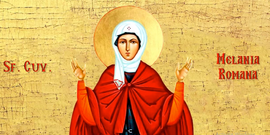 Sfânta Cuvioasă Melania Romana