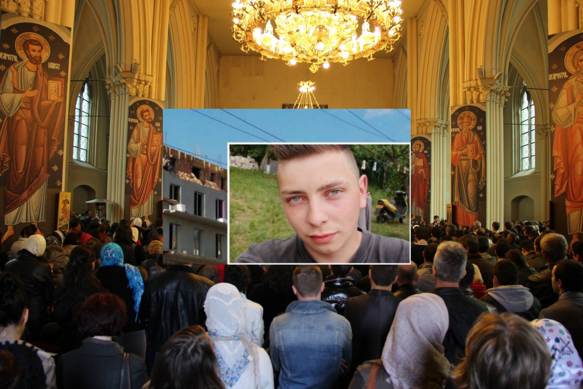 """Mobilizare exemplară în Diaspora. Un tânăr cu arsuri grave, ajutat cu 20.000 de euro de """"Parohia Sfântul Nicolae"""" din Bruxelles"""