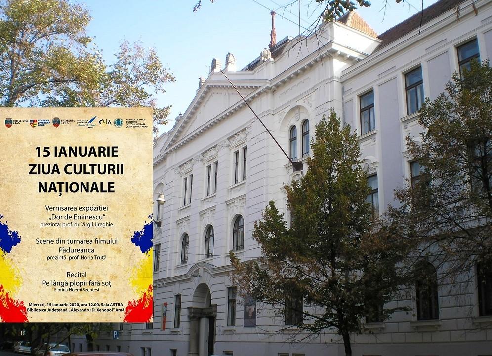 """Ziua Culturii Naționale, marcată la Biblioteca Județeană """"Alexandru D. Xenopol"""""""
