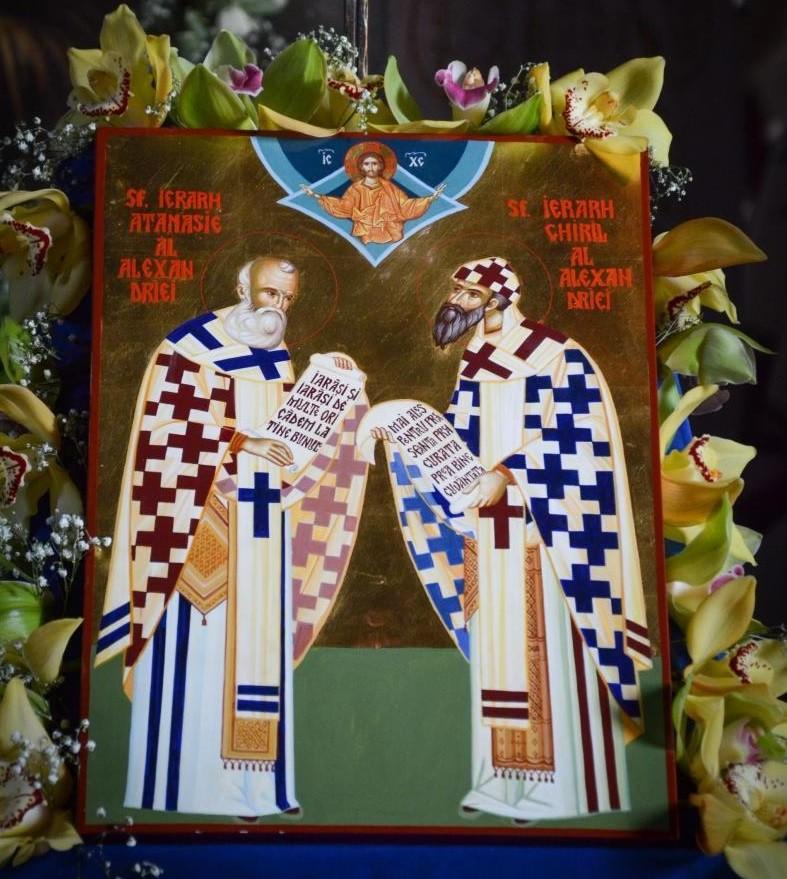 Sfinții Ierarhi Atanasie și Chiril, apărătorii dreptei credințe