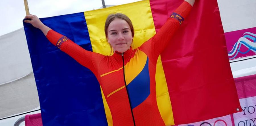 Georgeta Popescu, prima campioană olimpică a României din istoria monobobului