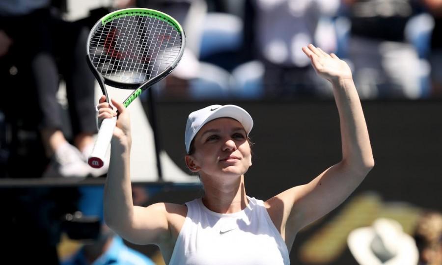 Simona Halep s-a calificat în semifinale la Australian Open!