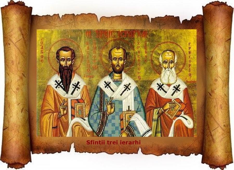Sfinții Trei Ierarhi, Vasile, Grigorie și Ioan, modele de comuniune, prietenie și dragoste față de Dumnezeu