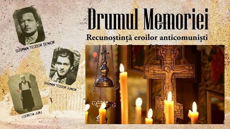 Drumul Memoriei. Slujbă de pomenire pentru luptătorii anticomunişti din Grupul Şuşman