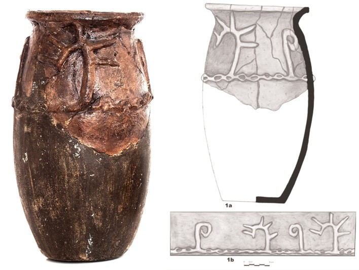 Vas dacic, descoperit la Zăbrani în anii '60, exponatul lunii februarie la Complexul Muzeal Arad