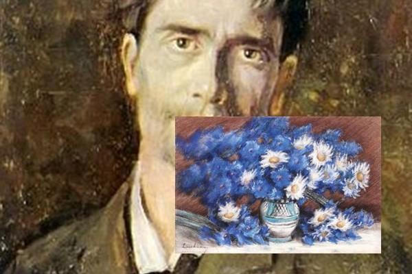 """""""Ulcior cu albăstrele"""" de Ștefan Luchian, cea mai bine vândută lucrare din colecția Pacea"""