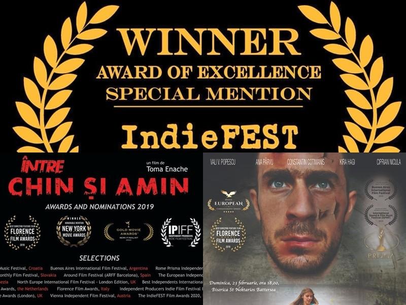 """Ce bucurie! Filmul """"Între chin și amin"""" - Premiu de Excelenţă la IndieFEST"""