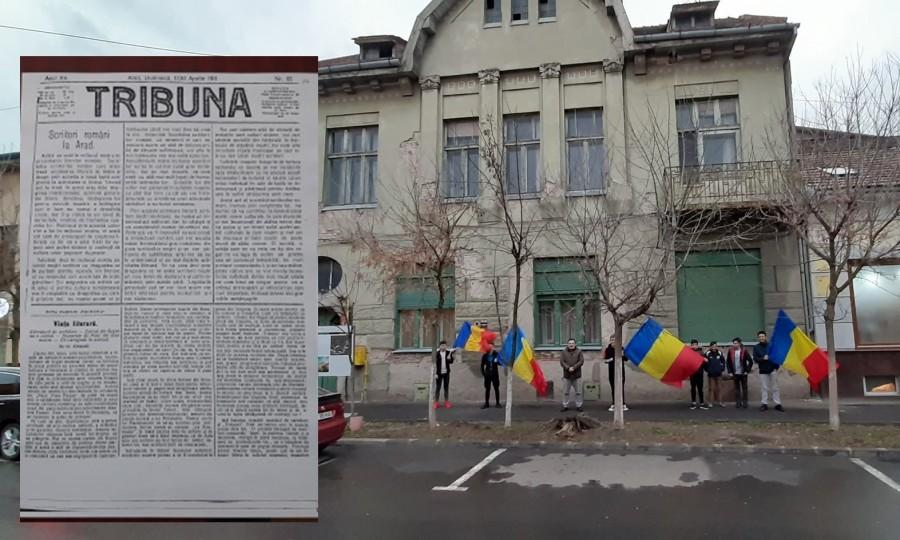 """""""Tribuna"""" de luptă a arădenilor și a întregii Transilvanii"""