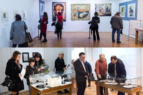 """Expoziția """"Unexpected Dali"""" s-a deschis pentru prima dată în țară, la Arad. Până când poate fi vizitată"""