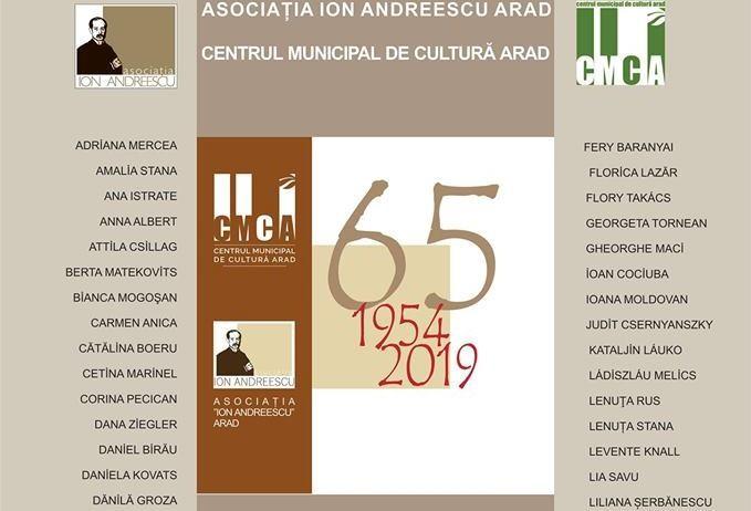 """Cenaclul """"Ion Andreescu"""" Arad, la 65 de ani de la înființare"""