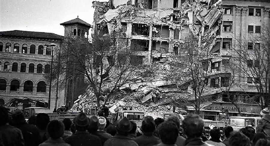 43 de ani de la cutremurul din 1977. Recomandările pompierilor în cazul producerii unui seism puternic
