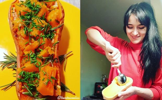 Din Bucătăria Lui Eliss: Couscous din grâu dur cu dovleac plăcintar și ierburi aromate