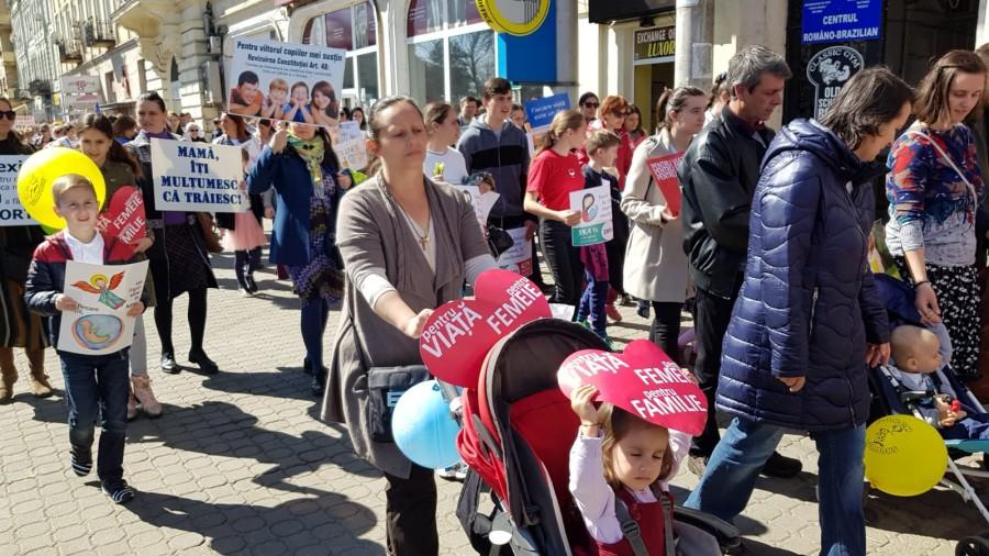 Marșul pentru Viață 2020 a fost reprogramat pentru 17 mai, de Ziua Națională a Familiei