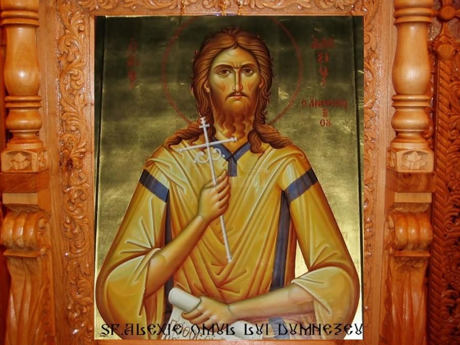 Sfântul Cuvios Alexie, omul lui Dumnezeu