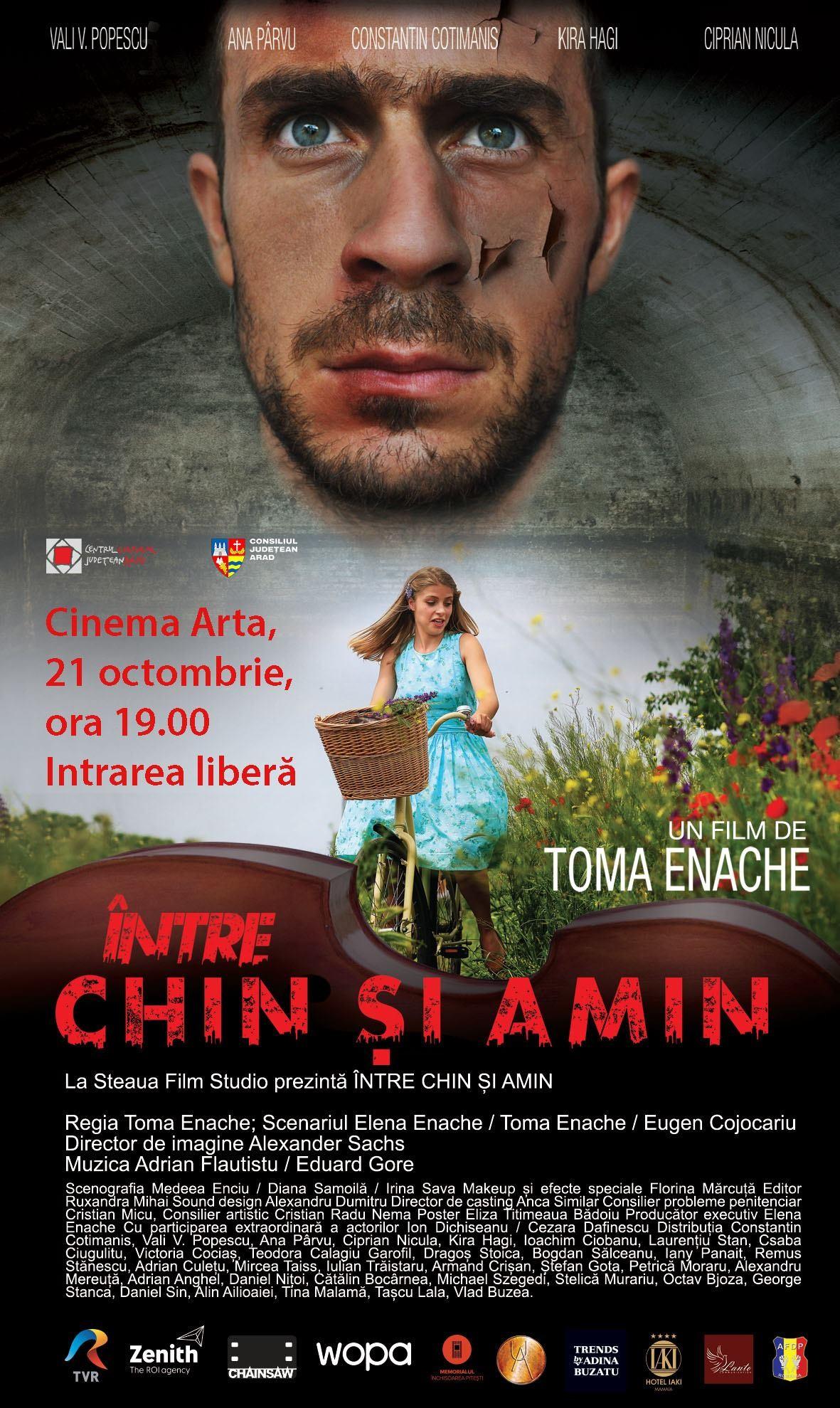 "Kira Hagi și Toma Enache vin la Arad să lanseze filmul ""Între chin și amin"""