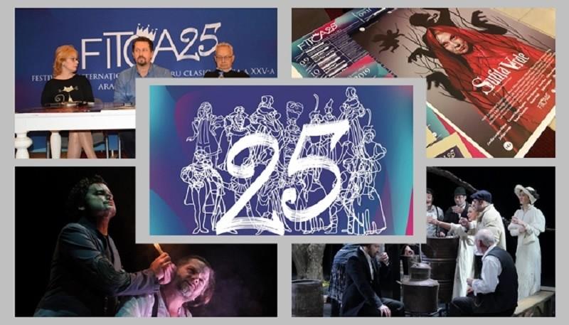 Festivalul Internaţional de Teatru Clasic de la Arad, la a 25-a ediție. Programul complet