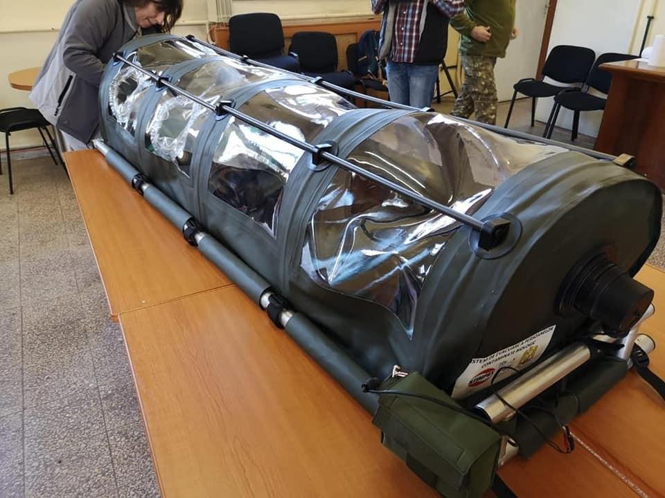 Izoletă 100% românească, realizată în timp record de cercetătorii militari