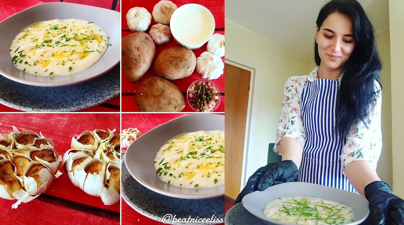 Din Bucătăria Lui Eliss: Supă cremă de usturoi copt