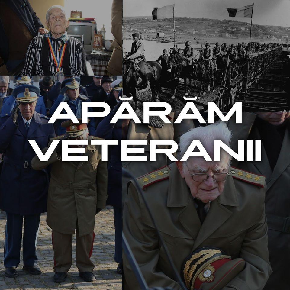 Cea mai importantă misiune: Apărăm veteranii! Linie telefonică TelVerde destinată veteranilor și văduvelor de război