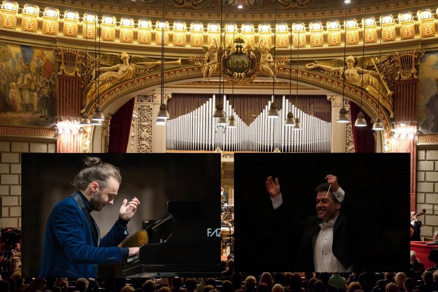 """Dirijorul Christian Badea și pianistul Daniel Ciobanu deschid pe 2 aprilie 2020 stagiunea online a Filarmonicii """"George Enescu"""""""