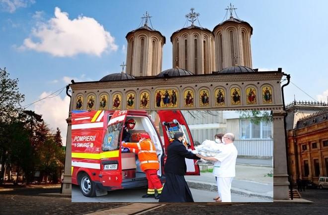 Măsuri de sprijin ale Bisericii Ortodoxe Române în timpul pandemiei de coronavirus