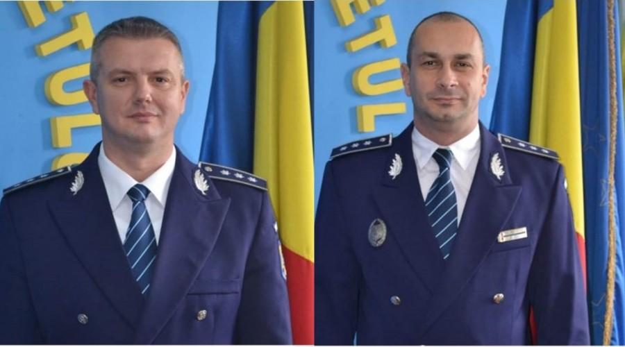 Adjuncți noi la Inspectoratul de Poliție Județean Arad