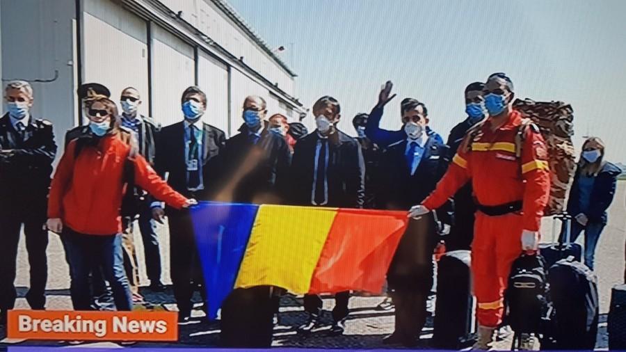 Medicii și asistenții medicali români au ajuns în Italia