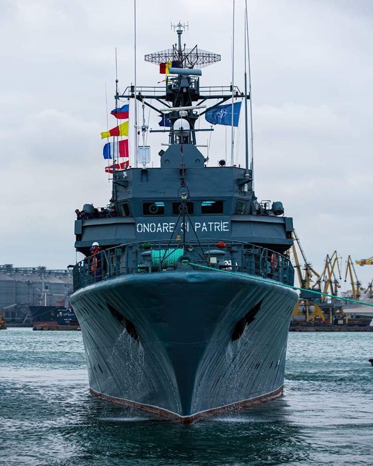 """Mesajul zilei vine de la Forțele Navale Române: """"Niciun rău nu te poate doborî, decât dacă îi permiți să pătrundă în tine"""""""