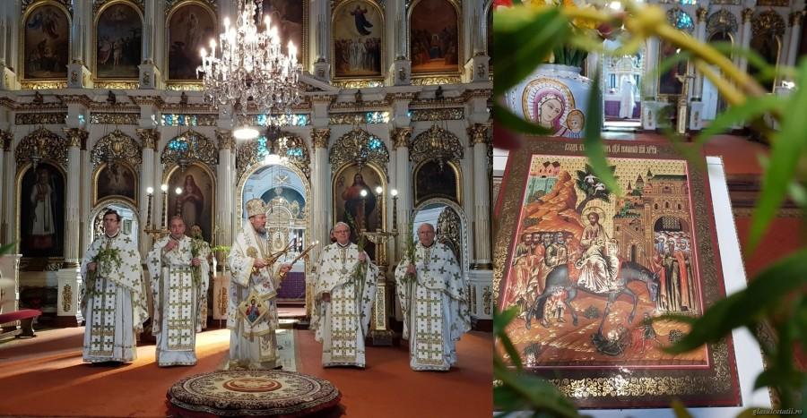 Intrarea Domnului în Ierusalim, chemarea noastră la Înviere. Chiar dacă nu am fost prezenți în biserici, icoanele noastre au fost!